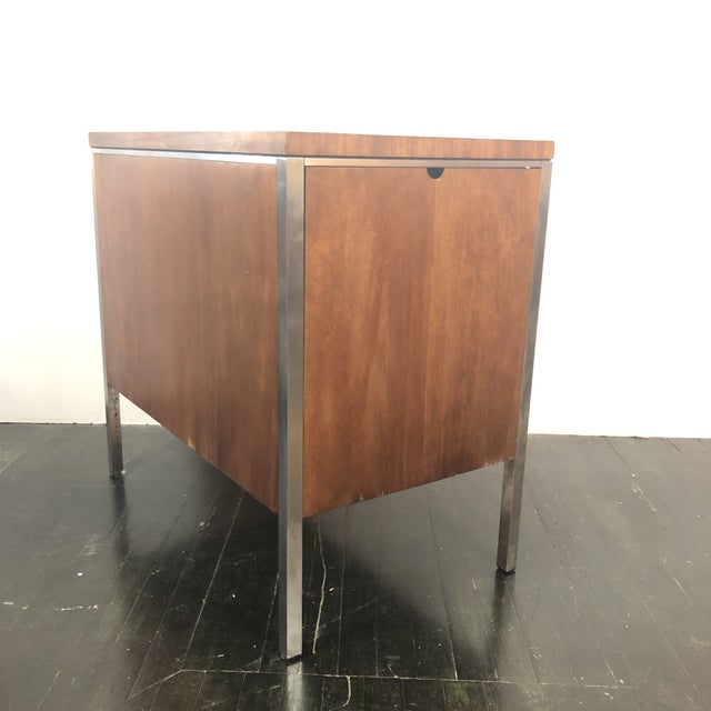 1960s 1960s Mid Century Modern Walnut File Drawers by the General Fireproofing Co For Sale - Image 5 of 13