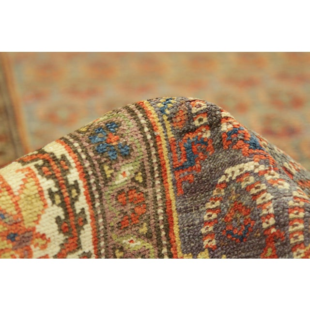 1920's Twin Antique Persian Rug Malayer Design Circa 1920's - 3′5″ × 19′8″ For Sale In Dallas - Image 6 of 11