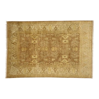 Vintage Traditional Indian Rug - 06'01 X 09'00 For Sale
