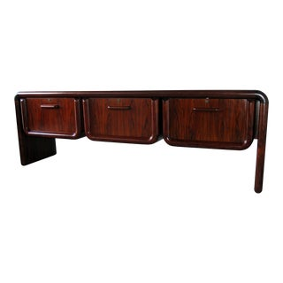 Sculptural Brazilian Rosewood Credenza by Dyrlund Denmark For Sale
