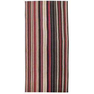 Large Kilim with Vertical Bands