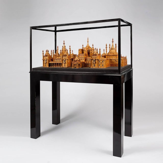 Made in the 1960s from over 40,000 matchsticks by Bernard Martell. The artist spent over 1700 hours meticulously...
