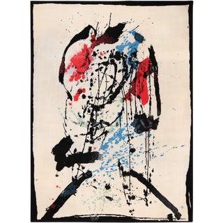 Vintage Mid-Century Scandinavian Ege Art Line Robert Jacobsen Rug - 8′2″ × 11′ For Sale
