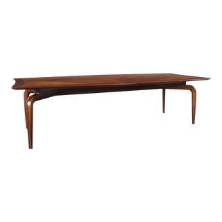 1960s Vintage Diamond Shaped Conference Table or Dining Table by Monteverdi Young For Sale