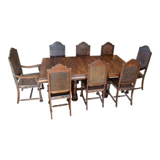 19th Century Brazilian Dining Set - 9 Pieces For Sale