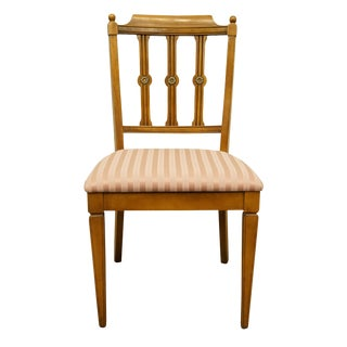 Vintage Century Furniture Italian Inspired Dining Side Chair For Sale
