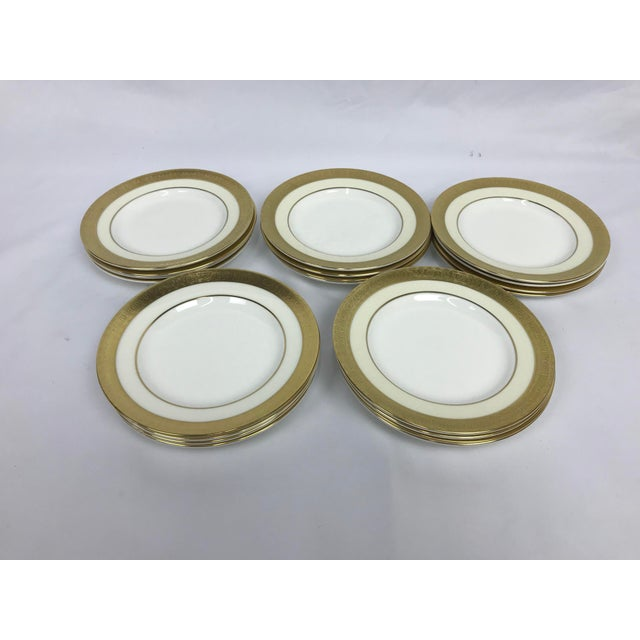 Minton's Buckingham Bread Plates - Set of 20 For Sale In Portland, OR - Image 6 of 6