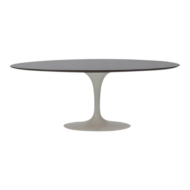 Oval Tulip Dining Table by Eero Saarinen for Knoll For Sale