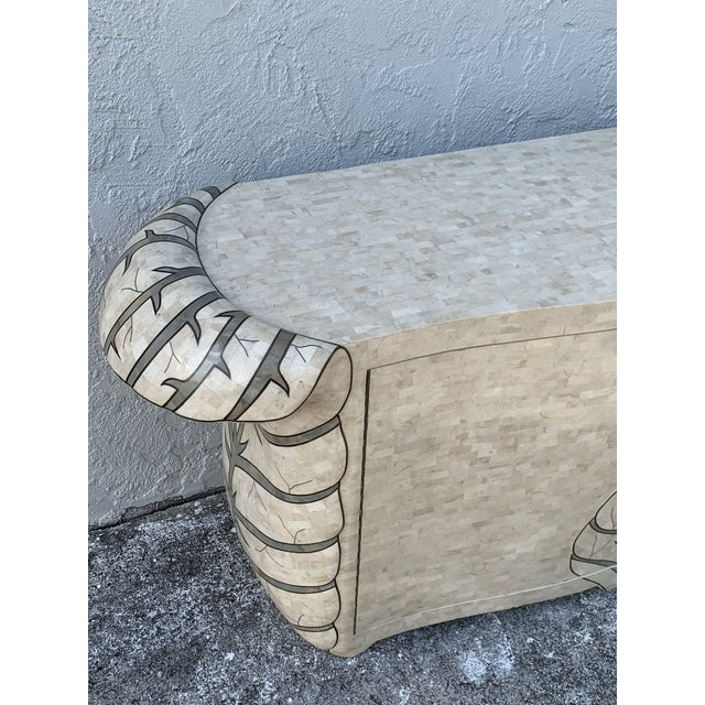 Bold Pop Art Tessellated Stone Credenza by Maitland Smith For Sale In West Palm - Image 6 of 11