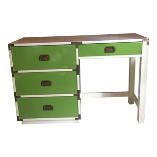 Mid-Century Modern Campaign Desk For Sale