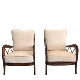 20th Century Paolo Buffa Armchairs - a Pair For Sale
