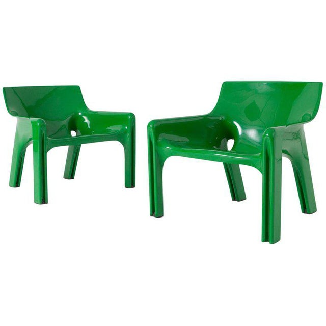 Vico Magistrati Vicario Lounge Chairs For Sale - Image 10 of 10