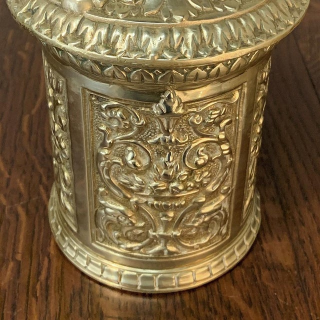Late 19th Century 19th Century Bronze French Humidor For Sale - Image 5 of 13