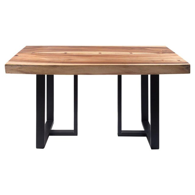 Contemporary Organic Modern Acacia Live Edge Dining Table For Sale - Image 3 of 3