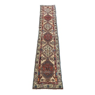 "Antique Persian Sarab Narrow Runner - 2'6""x13'8"" For Sale"