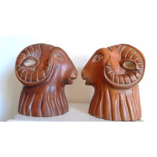 Sarreid Rams Head Bookends - A Pair Preview