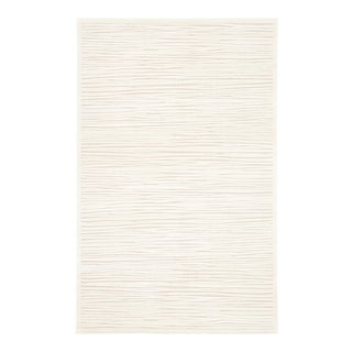 Jaipur Living Linea Abstract White Square Area Rug 8'X8' For Sale