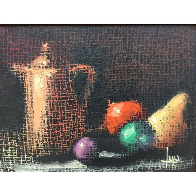 Italian Still Life Original Oil Painting For Sale - Image 4 of 10