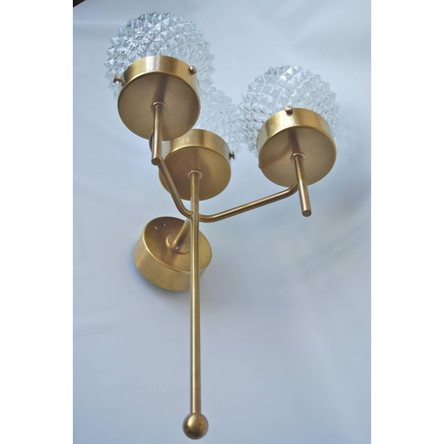 Mid-Century Modern Large and Rare Pair of Wall Lights by Hans-Agne Jakobsson For Sale - Image 3 of 11