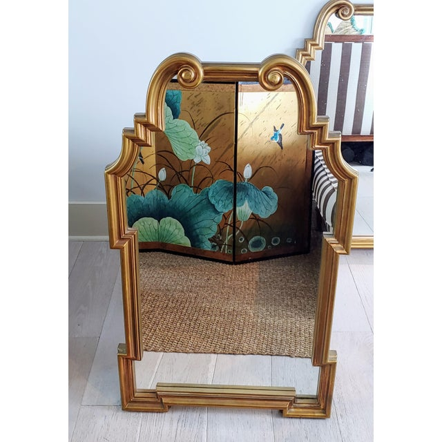 Miles Redd Hollywood Queen Ann Style Mirrors - a Pair For Sale In Charleston - Image 6 of 9