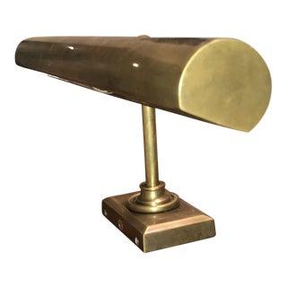 E.F. Chapman Brass Art Lamp For Sale