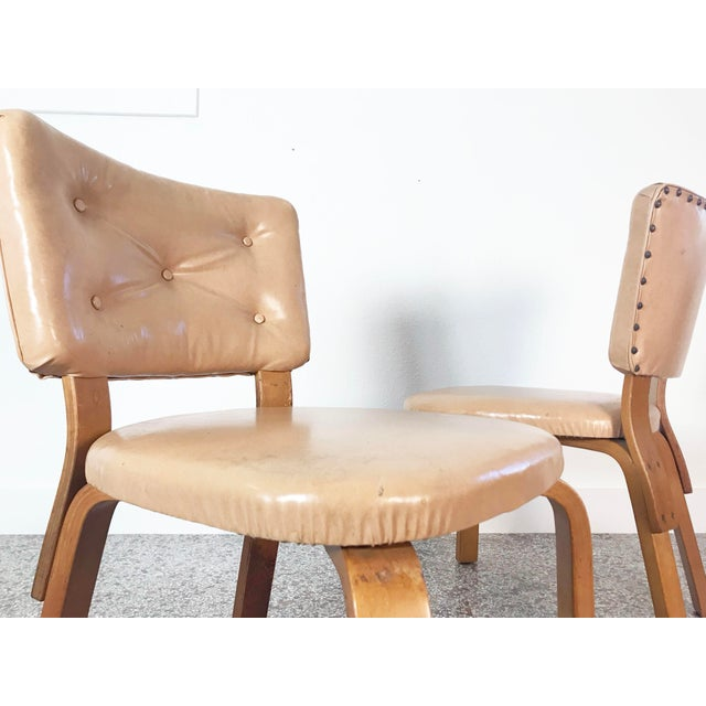 Early Alvar Aalto Model 62 Upholstered Chairs - a Pair For Sale - Image 10 of 13