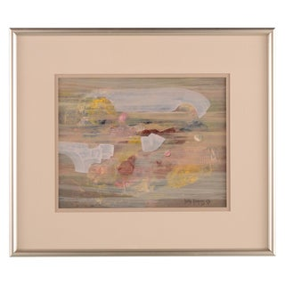 Abstract Expressionist Painting by Betty Dickens For Sale