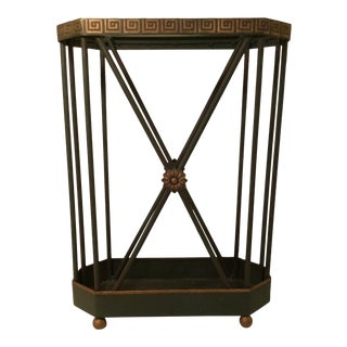 Niermann Weeks Classical Style Umbrella Stand For Sale