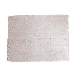 "Vintage Flatweave Carpet - 6'6"" X 8'4"" For Sale"