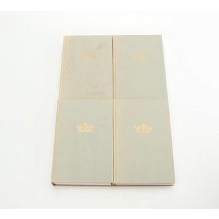 Vintage Violet Bound Books - Set of 4 Preview
