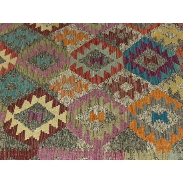 """Bellwether Rugs Wool Kilim Rug - 6'8"""" x 10' - Image 7 of 11"""
