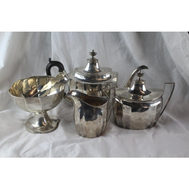Late 1700s Federal Tea Set of 5 For Sale - Image 10 of 10