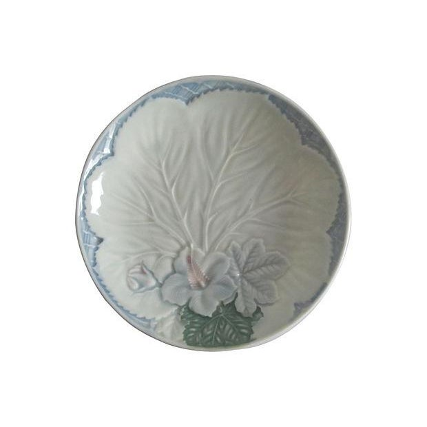 Floral Majolica Plates - Set of 9 - Image 2 of 3