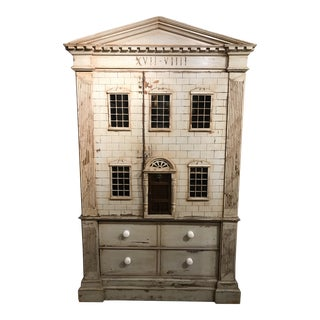 Large Georgian Style Armoire by j.r. Teale and Son For Sale