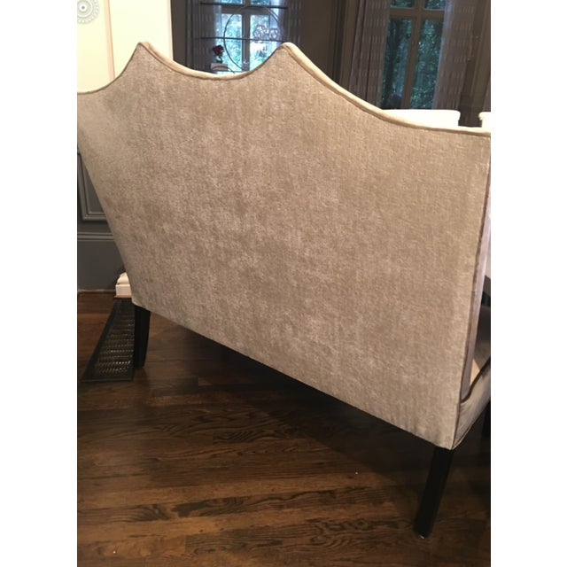 Traditional Transitional Custom Made Designer Bench For Sale - Image 3 of 9