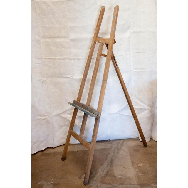 Vintage French Adjustable Painter's Easel - Image 2 of 7