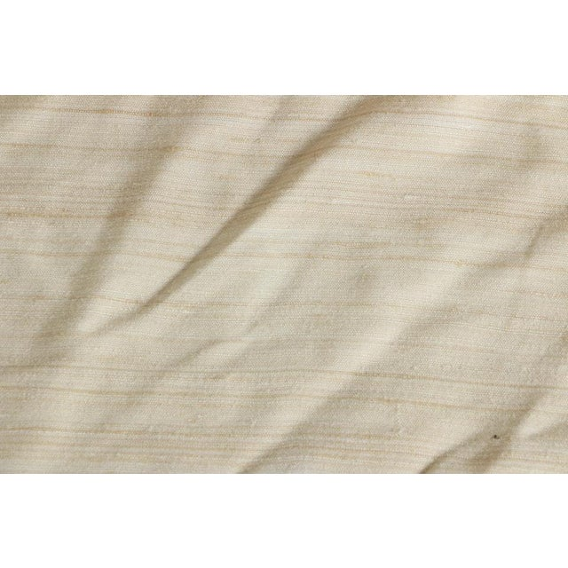 Silk Dupioni Silk Upholstery Fabric Roll For Sale - Image 7 of 8