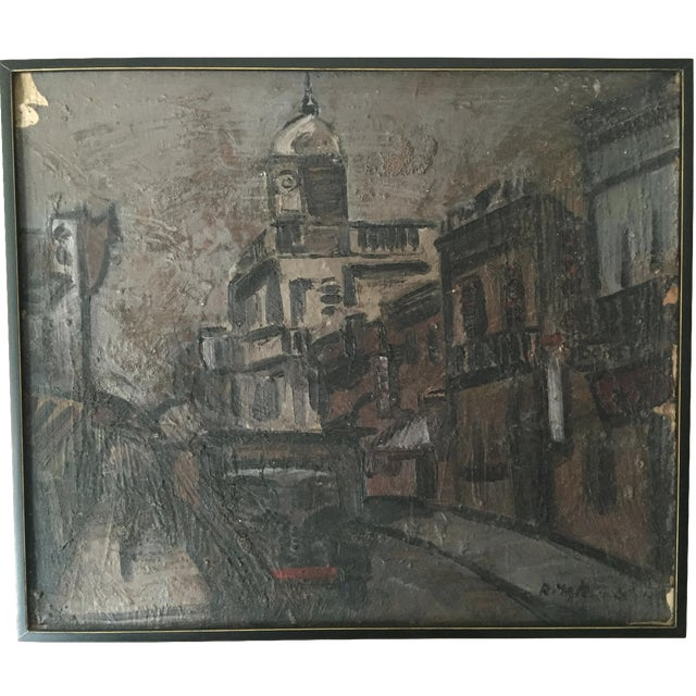 1960s Uruguayan Oil Painting - Image 1 of 3