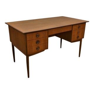"""Original Danish Mid Century Teak Desk - """"Torrig"""""""