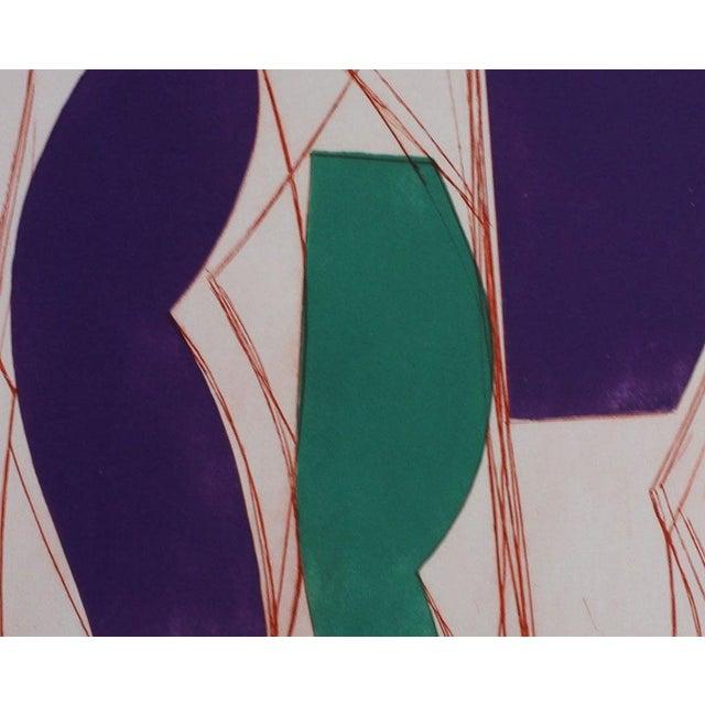 "Abstract Alain Clément ""14av10g-2014"", Print For Sale - Image 3 of 4"