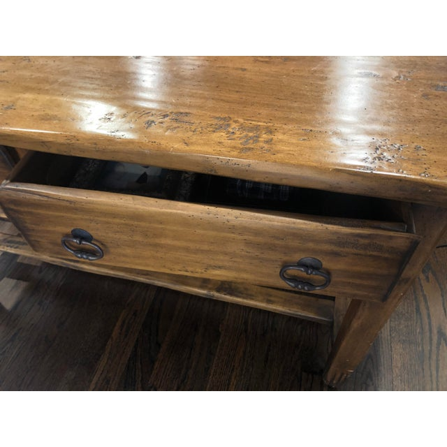Sofa Table - Solid Wood For Sale - Image 4 of 12