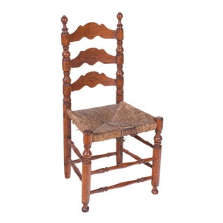 Spanish Rustic Turned Side Chair