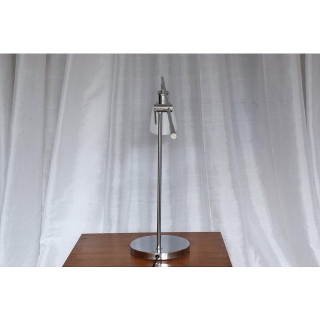 Vintage Wofi Leuchten Chrome Lamp, 1960s For Sale - Image 4 of 13
