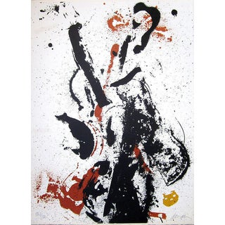 """Arman """"Eclipse D'eclisses"""" 1970 Abstract Lithograph For Sale"""