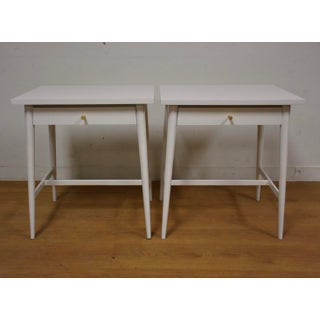 White Paul McCobb Nightstands - A Pair Preview