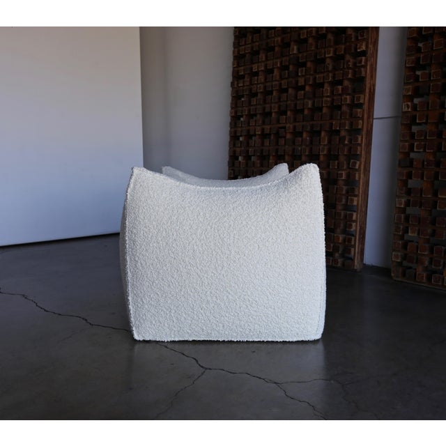 "Mario Bellini "" Le Bambole "" Lounge Chairs for B&b Italia, Circa 1985 - a Pair For Sale - Image 12 of 13"