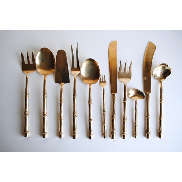 Mid-Century Bronze Flatware Set, 142 Pieces (Service for 12) - Image 8 of 8