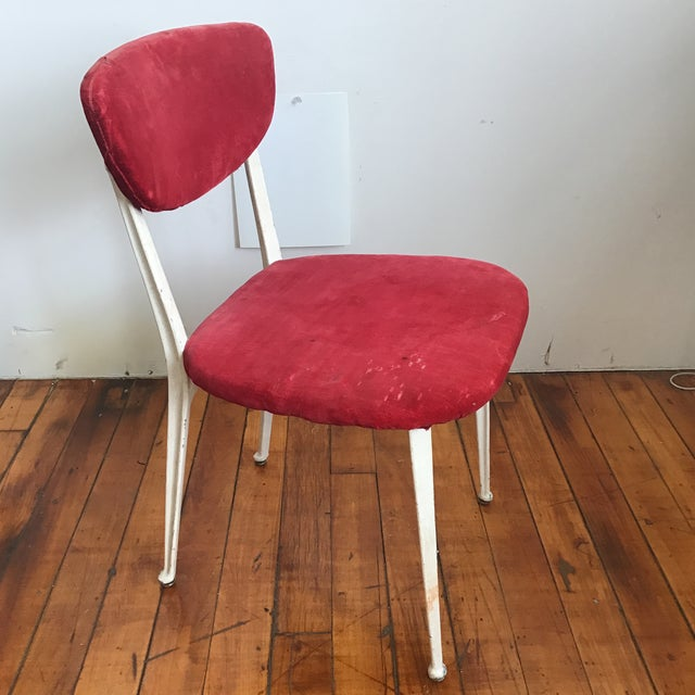Red Red Earnest Race Chair For Sale - Image 8 of 8