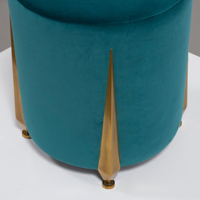 The Iris Stool by Talisman Bespoke For Sale - Image 6 of 11
