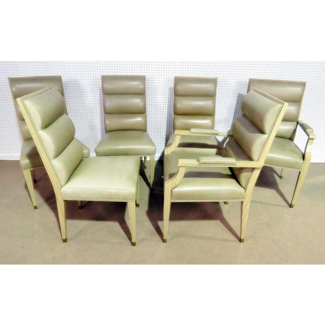 Set of 6 Mid Century Modern Dining Chairs For Sale In Philadelphia - Image 6 of 9